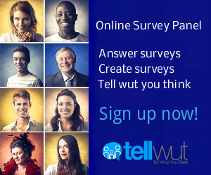 tellwut online survey panel