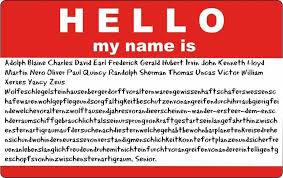 The Longest Doented Name Ever Belongs To A German Born Philadelphia 1904 1985