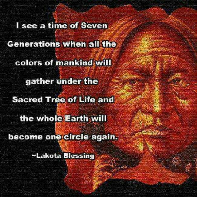 Lessons To Be Learned From Our First Nations People