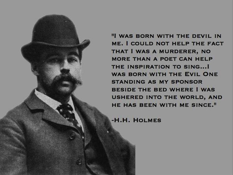 The Murder Castle H H Holmes America S First Serial Killer