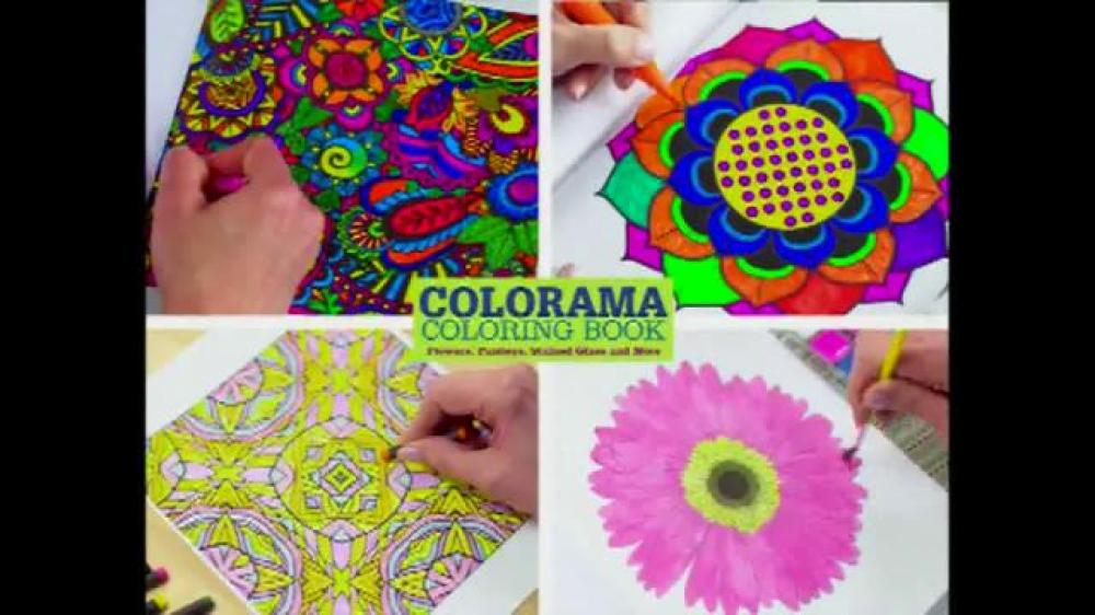 Have You Heard Of The Colorama Books They Are Coloring For Adults