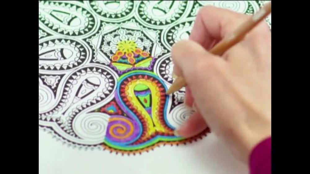 The Commercial For Coloring Books Says When Your Done Picture You Can Frame