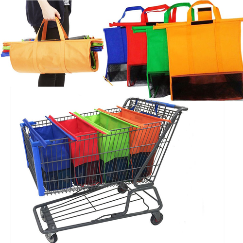 Do you use non-disposable grocery bags when you shop grocery store ...
