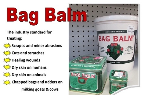 There Are Many Uses For Bag Balm What Items Or Things Have You