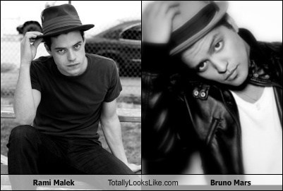 Does Rami Malek Totally Look Like Bruno Mars ? | Tellwut.com