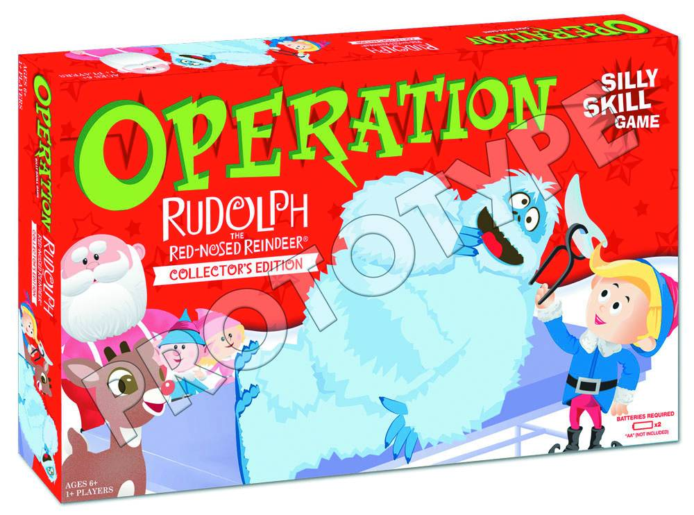 how to play operation silly skill game