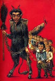 my daughter is not in the Christmas spirit so I told her about krampus. did/do you tell you kids about krampus if they are not in the Christmas spirit?
