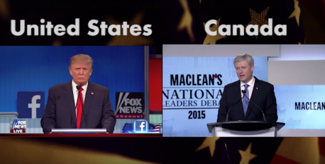 For both Canadians & Americans: In the US, the presidential primaries/caucuses are 2-5 months away. Have you made up your mind who to vote or caucus for? Canadians: Two months prior to the PM election, had you made up your mind definitively?