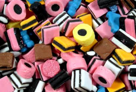 I enjoy novelty licorice such as those pictured, or other types of unusual licorice with unexpected flavors.