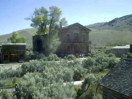 Some ghost towns, especially those that preserve period-specific architecture, have become tourist attractions (image: Bannack, Montana, USA, a well-preserved ghost town that is now a state park). Have you visited some of these ghost town attractions?