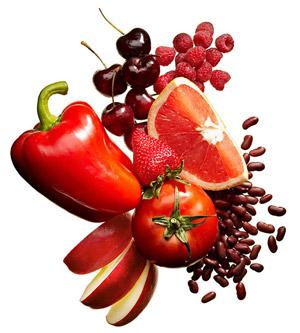 Fruits & Vegetables that are red. Which ones do you prefer to eat?