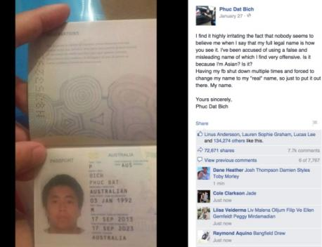 PHUC DAT BICH: In November, the saga of Phuc Dat Bich, an unfortunately-named Vietnamese-Australian man who allegedly had his Facebook account deactivated multiple times, went viral. After fooling newspapers and media organizations in the U.S. and Europe, the story was revealed to be a hoax.