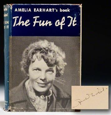 Earhart was a successful and heavily promoted writer who served as aviation editor for Cosmopolitan magazine from 1928 to 1930. She wrote magazine articles, newspaper columns, essays and published two books based upon her experiences as a flyer during her lifetime. What publications are you familiar with?