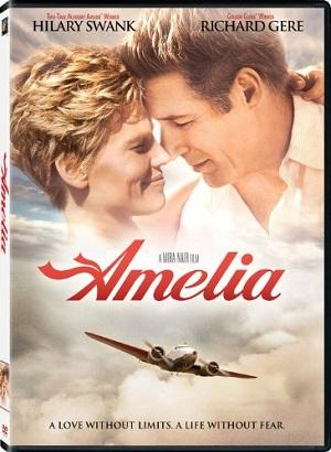 Last question: Amelia is a 2009 American biographical film about the life of Amelia Earhart. The film starred Hilary Swank as Earhart and Richard Gere as her husband, George Putnam. Have you ever watched the 2009 movie Amelia on TV or DVD?