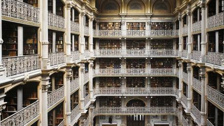 The Peabody Library, Baltimore, U.S.: Will Pryce: