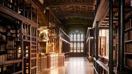 The Bodleian Library, Oxford, UK - Will Pryce: