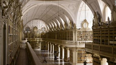 Mafra Palace Library, Mafra, Portugal – James Campbell: