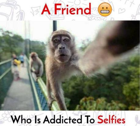 Lastly: Are you addicted to taking selfies?