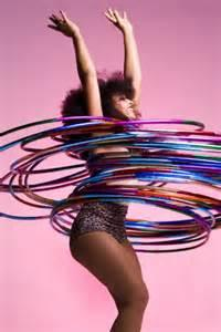 A hula hoop is a toy hoop that is twirled around the waist, arms, legs or neck. Did you ever hula hoop as a child?