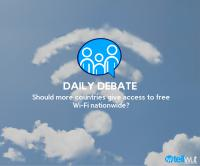 Daily Debate: Should more countries give access to free Wi-Fi nationwide?