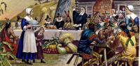 The Pilgrims of Plymouth Colony and 90 Wampanoag tribe members shared the first Thanksgiving feast in 1621 - which of the original menu items have you ever eaten on Thanksgiving ?
