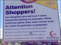 Have stores in your area started installing these devices on shopping carts?