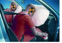 Did you receive injuries that were caused by the airbags?