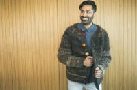 A sweater is making its debut at Toronto Fashion Week and its creators are hoping your reaction is,