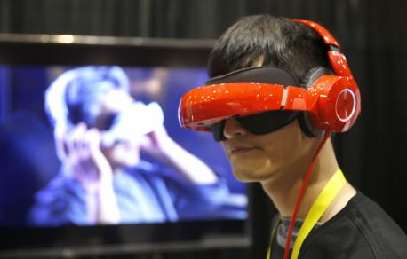 The Royole-X Smart Mobile Theater system is basically a foldable set of noise-canceling headphones that you wear over your eyes for an immersive theater experience. The device lets you watch movies streamed from Netflix, Amazon Video, Hulu and YouTube and play videos from gaming platforms PlayStation, Wii, Xbox, Apple and Google. And glasses wearers rejoice: The system has customizable vision controls that can be adjusted to varying optical powers so you can take your specks off. Preordaining is available now, and it retails for $700 U.S.