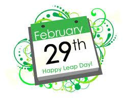 A leap year is any year with 366 days instead of the usual 365 days. Therefore, leap day this year will fall on Monday, February 29th. So...why the extra day? It was the ancient Egyptians who first figured out that the solar year and the man-made calendar year didn't always match up. That's because it actually takes the Earth a little longer than a year to travel around the Sun — 365 days, 5 hours, 48 minutes, and 46 seconds, to be exact. Therefore, as the hours accumulated over the centures, an extra day was occasionally added to the calendar, and over time the practice became more or less official. Do you look forward to Leap Day or is it