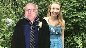 When she couldn't find a suitable date to accompany her to prom, one Pennsylvania high school student took an unorthodox approach -- she brought a cardboard cutout of actor Danny DeVito to the dance as her date. Allison Closs and her famous two-dimensional date joined other Carlisle High School seniors May 11 for prom. DeVito starred in the classic TV series