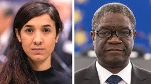 With the #MeToo dominating headlines this year, it seems fitting that the Nobel Peace Prize this year was given to two activists in the field -- Nadia Murad , an Iraqi Yazidi who was tortured and raped by Islamic State militants and later became the face of a campaign to free the Yazidi people and Dr Dennis Mukwege, a Congolese gynaecologist who, along with his colleagues, has treated tens of thousands of victims. Both won the award for their