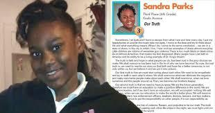 Two years ago 13-year old Sandra Parks wrote about gun violence in her Milwaukee neighborhood. She called her essay