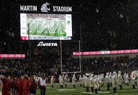 Last week, the University of Washington marching band was unable to make the Apple Cup game at Washington State when one of its charter buses crashed en route. None of the injuries were life-threatening, but the school could not attend the game. But their rival, Washington State's Cougar Band made sure the Husky Marching Band had a presence by playing Washington's fight song, Bow Down to Washington, before Friday's rivalry game. Also, the area where the Washington band would have sat was left empty as a tribute. Do you agree this was a nice show of sportsmanship?
