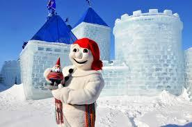 This weekend, the Québec Winter Carnival kicks off and children and adults alike can be seen enjoying the snowy celebrations while paying homage to their favourite snowman, the official representative of the carnival, Bonhomme, a large snowman who always wears a red cap, black buttons, and a ceinture fléchée, or