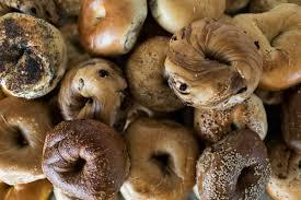 According to bagel expert and Jewish food writer Jeremy Glass, there are only six kinds of acceptable bagels -- Everything, Egg, Pumpernickel, Onion, Poppy Seed or Plain. Everything else, he claims, is a