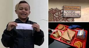 California student Ryan Kyote, 9, has long had a passion for helping others. Since the start of the school year last year, Kyote had been using his lunch card to buy meals for students who could not afford to eat. But at the end of the school year, the boy decided to take his kindness a step further. After hearing a news story about a 5-year-old in Indiana who was denied lunch because his family was unable to pay for the meal, Kyote decided to use six months of allowance he had saved up to pay off the school lunch debt for his third-grade classmates. His school will not refuse lunch to anyone, but the students who can not pay run up a tab, that they are responsible for at the end of the year. Kyote and his mother went into the school office, and paid off this debt, so these students did not have to worry about it. Has your child (or yourself) ever done something so altruistic at such a young age?