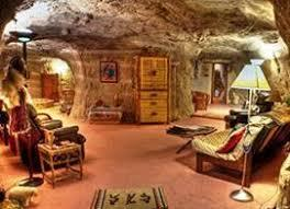 If your tastes run a little more adventurous, this Bed and Breakfast set in a cave may be for you. This bed and breakfast inn, built into the vertical cliffs over the La Plata River valley in New Mexico, features multiple rooms, a replica Native American kiva, and a bathroom with a waterfall shower and a jacuzzi tub. It's a real cave, so there's no A/C or heat, but the temperature remains a consistent 68 to 73 degrees year-round. Would you enjoy this type of accommodation?