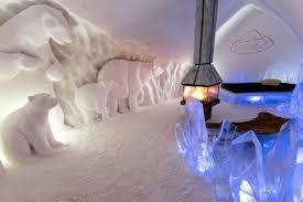 Of course, no list of unusual hotels in Canada would be complete without an ice hotel, and this one, the Hôtel de Glace, near Quebec City, is one of the best. Where else can you say you slept on a bed of ice? With just about everything on the property made of ice and snow, it sounds chilly but you can always warm up in the sauna or hot tub or opt for the deluxe suite which boasts a fireplace. Of course, it is only open seasonally, January to the end of March. Would you like to sty here?