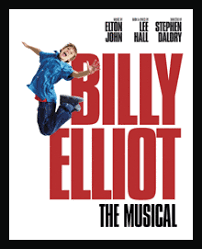 The musical stage production, Billy Elliot -- and movie of the same name -- tells the story of 11-year-old Billy Elliot, a coal miner's son in Northern England, whose life is forever changed one day when he stumbles upon a ballet class during his weekly boxing lesson. Before long, he finds himself in dance, demonstrating a special kind of raw talent. His father and brother forbid him to continue, and Billy is torn between his responsibility to his family and the gift with which he has been blessed. Did you see either the movie or film production?