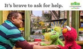 Sesame Street has long been a front runner in highlighting important issues and presenting them to children in a language they can understand. Did you and your children watch Sesame Street on a regular basis growing up?