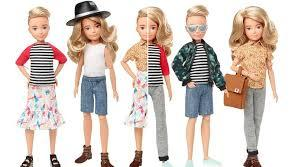 Mattel also released a gender-neutral doll line known as the Creatable World line. The line allows children to personally customize their dolls without gender being the focus. Mattel says about this line,