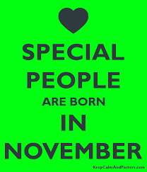 If you celebrate a birthday in November, as many of us surely do, you may share a birthday with these people. Do you share a birthday with any of the below?