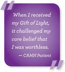 For someone suffering from addiction and severe mental health issues, sometimes all it takes is a small token of kindness and familiarity to support them in their rehabilitation. Gifts of Light are practical, meaningful gifts that meet the unique needs of patients at Toronto's Centre for Addiction and Mental Health (CAMH). Purchasing Gifts of Light on behalf of your friends and family goes to help people in crisis on their journey to recovery. Gift of Light was founded in 2008 thanks to the generosity of our donors, and continues today as a 100% donor-funded program. Over 13,000 patients each year benefit from the everyday essentials, such as pyjamas, slippers or personal care items, gifted to them through generous donations. Have you ever given a gift to someone like this, that directly goes to help someone in crisis or in need?