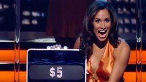 Before she married Prince Harry, and was known as the Duchess of Sussex — even before she carried a briefcase on Suits — Meghan Markle carried a briefcase on Deal or No Deal in 2006. Meghan was one of the famous suitcase models who held, opened and reacted to the suitcases opened on the popular game show hosted by Howie Mandel from 2005 to 2010, where contestants must open 26 random suitcases in hopes of winning the grand prize of $1 million. Did you ever watch the show and do you remember seeing Meghan on the show?
