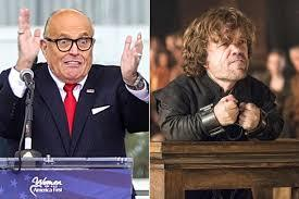 Just when you've heard it all, along comes Rudy Giuliani to prove truth is way stranger than fiction. Former New York City mayor turned President Trump lawyer Rudy Giuliani is blaming Game of Thrones for inspiring his inciteful-sounding speech leading up to last Wednesday's MAGA as*ault on the U.S. Capitol. Giuliani told hordes of Trump-worshippers in D.C. shortly before the riot
