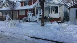A fellow Winnipeg man has turned his front yard into a positively