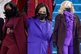 Both Vice President Harris, former first lady, Michelle Obama and Hillary Clinton all wore a shades of purple, sending a symbolic message. The three women chose to wear purple to the Capitol Building because it is a combination of the political party colours, red and blue, a symbol of unity and coming together despite political affiliations. Do you agree it is time to put aside party politics and try and unite the country again?