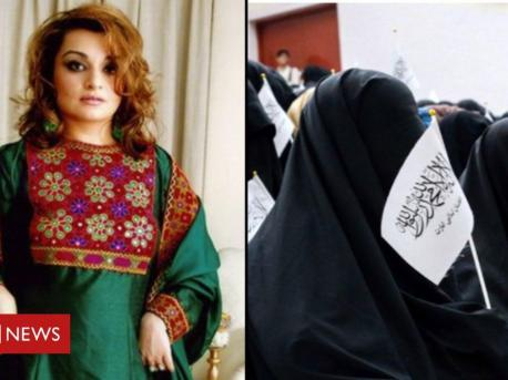 The online campaign began over a week ago when Bahar Jalali, a former history professor at the American University in Afghanistan, tweeted a photo of herself in a bright, green Afghan dress with flowers embroidered onto a red backdrop. She posted it using the hashtag #AfghanistanCulture, and the next day, she used #DoNotTouchMyClothes for another photo of herself.