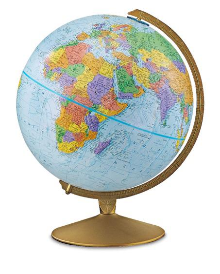 Do you have a world globe?